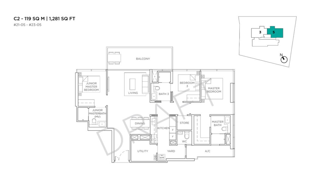 3 Cuscaden floor plan 10